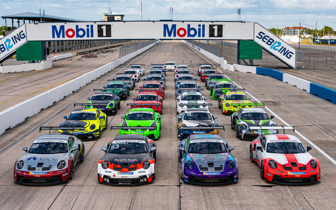 Porsche Carrera Cup North America Grid Comes into Focus